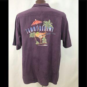 MEN'S Tommy Bahama Shirt Designated Driver Sz L